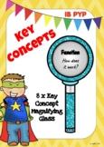 PYP IB Key Concepts