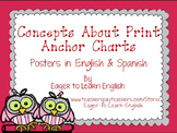 BILINGUAL SET: Concepts About Print Anchor Charts