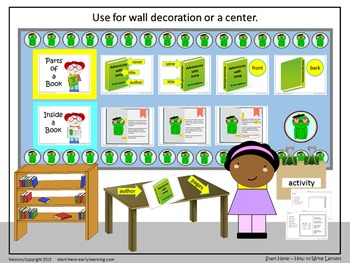 NO PREP - Concepts About Print - Literacy Center Set-Up