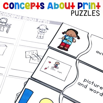 Concepts About Print Puzzles