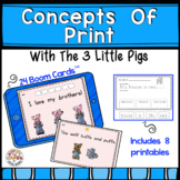 Concepts Of Print With The Three Little Pigs