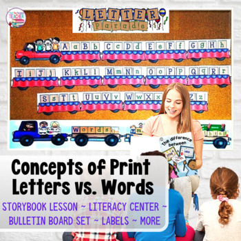 Concepts of Print  | Letters and Words | Distance Learning