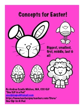 Concepts for Easter!