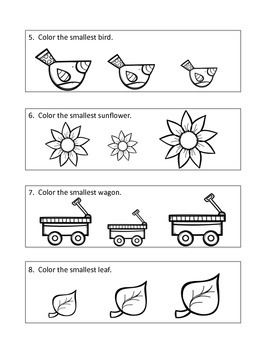 Concepts for Fall coloring book