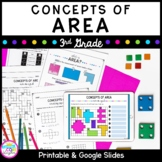 Concepts of Area Unit for Google Slides Distance Learning