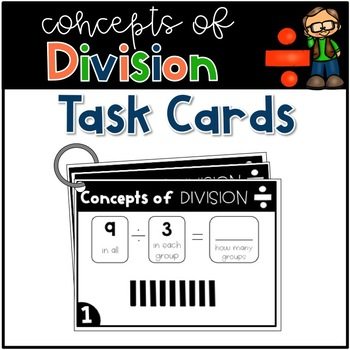 Concepts of Division Task Cards