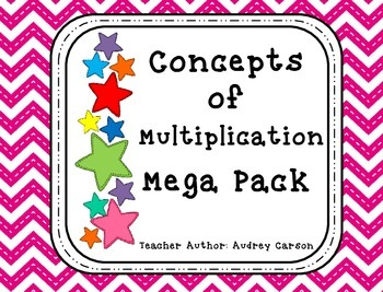 Concepts of Multiplication Mega Pack