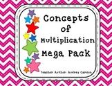 Concepts of Multiplication Mega Pack