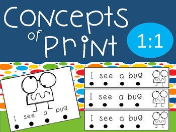 Concepts of Print- 1:1