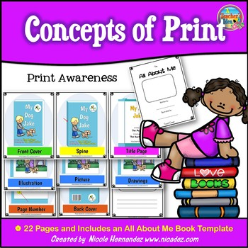 Concepts of Print {Print Awareness}