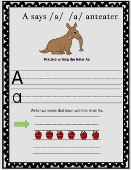 Concepts of Print- Alphabet Book, **Common Core Aligned** Morning Work