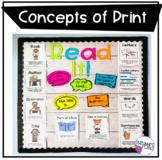 Concepts of Print Bulletin Board