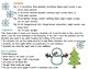 Concepts of Print, Emergent Readers, Christmas, Winter, An