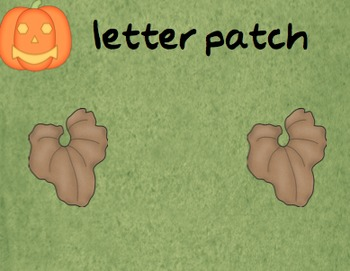 Concepts of Print Jack o' Lantern Story for Halloween