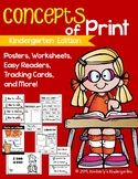 Concepts of Print & Print Awareness MEGA Pack! 50+ Pages & Posters!