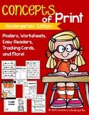 Concepts of Print. Letter vs. Word vs. Sentence & Return S