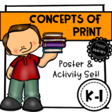 Concepts of Print - Poster & Activity Set