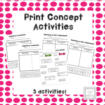 Concepts of Print Sort