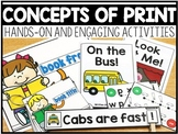 Concepts of Print (a set of 6 activities)
