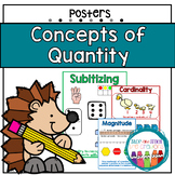 Concepts of Quantity - Math Posters
