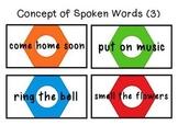 Concepts of Spoken Words
