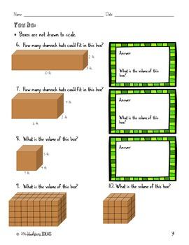 St. Patrick's Day Concepts of Volume Mini Lesson
