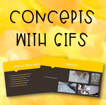 Concepts with GIFs