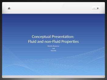Conceptual Density, Buoyancy, and Viscocity