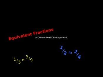 Equivalent Fractions - A Conceptual Development