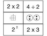 Subitizing- Multiplication/Division Cards