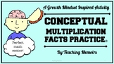 Conceptual Multiplication Math Fact Task