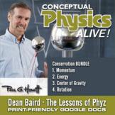 Conceptual Physics Alive: Conservation BUNDLE