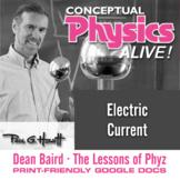 Conceptual Physics Alive: Electric Current