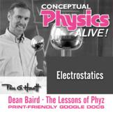 Conceptual Physics Alive: Electrostatics