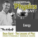 Conceptual Physics Alive: Energy