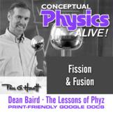Conceptual Physics Alive: Fission and Fusion
