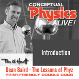 Conceptual Physics Alive: Introduction