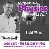 Conceptual Physics Alive: Light Waves