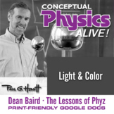 Conceptual Physics Alive: Light and Color