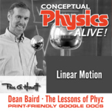 Conceptual Physics Alive: Linear Motion