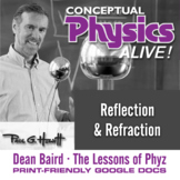 Conceptual Physics Alive: Reflection & Refraction