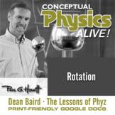 Conceptual Physics Alive: Rotation