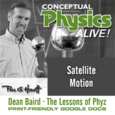 Conceptual Physics Alive: Satellite Motion