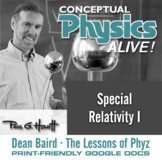 Conceptual Physics Alive: Special Relativity I