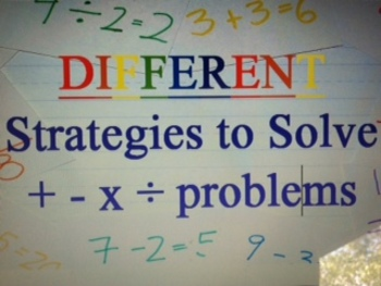 Common Core Different Strategies to Solve Problems: For Parents and Teachers