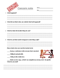 Concern Note with Restorative Questions