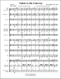 Concert Band Music - Salute to the Gateway