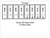 Beginning Band Concert Eb Major Scale (in solfege)