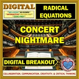 Concert Nightmare: Digital Breakout about Solving Radical