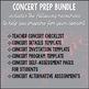 Concert Prep BUNDLE